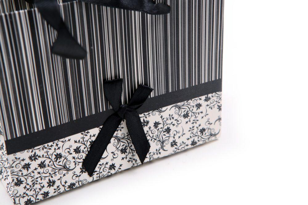 Verpakking zwart/wit