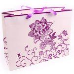 Verpakking bloem paars