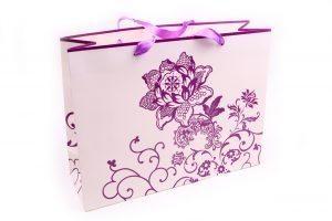 001. Verpakking bloem paars (12 st.)