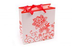 001. Verpakking bloem rood (12 st.)
