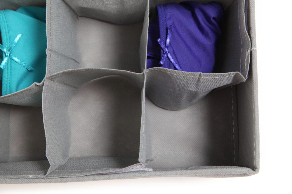 Opbergbox voor slips en sokken - 10 halen 9 betalen