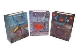 001. Verpakking spijkerbroek hartje (12 st.)