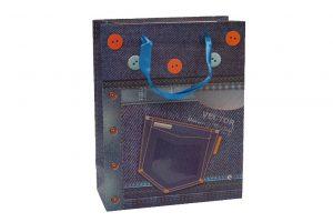 001. Verpakking spijkerbroek knopen (12 st.)