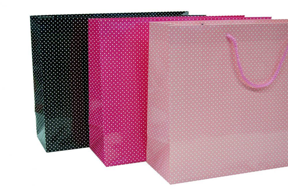 Verpakking stip licht roze/wit