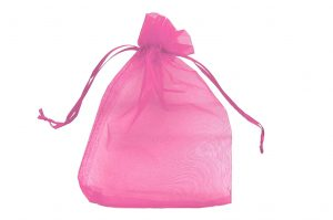 008. Organza packaging pink (50 pcs.)