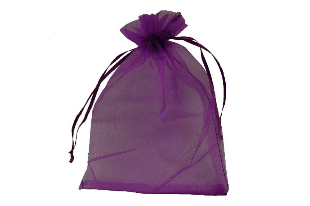 Organza verpakking paars