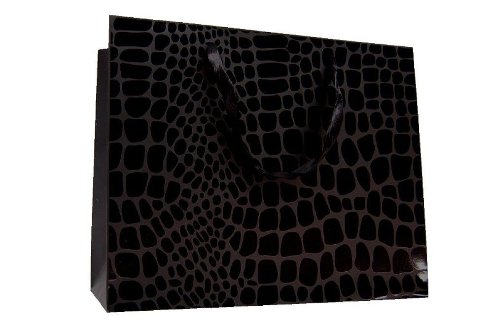 Verpakking kroko zwart