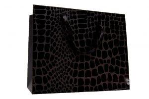 001. Verpakking kroko zwart (12 st.)