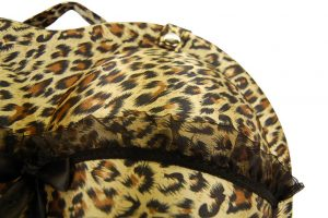 048. BH koffer leopard large