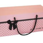 Box stippel roze