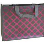 Non woven Verpakking zwart/donker roze
