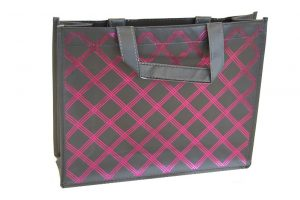 Non woven packaging – black/ dark pink(10pcs)