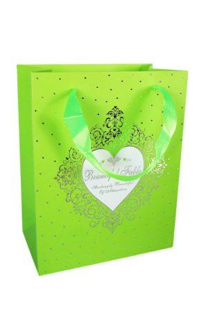 001. Verpakking hartje groen (12 st.)