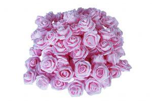 026. Decoratie roos roze
