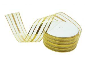 020. Decoration ribbon large gold