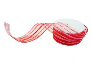 020. Decoration ribbon large red