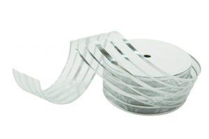 020. Decoration ribbon large silver