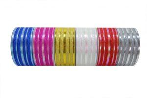 020. Decoration ribbon medium gold