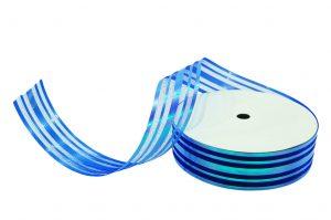 020. Decoratie lint middel blauw