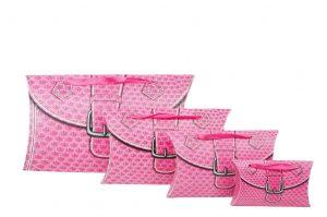 001. Verpakking pillow snake roze (25 st.)
