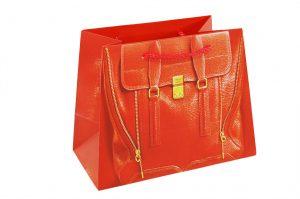 001. Verpakking handtas rood (12 st.)