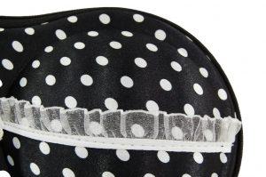 048. BH koffer zwart/wit stip
