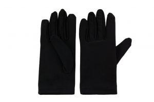 044. Luxe handschoen zwart