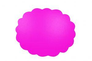 053. Schrijfbare kortingskaart ribbel neon fuchsia