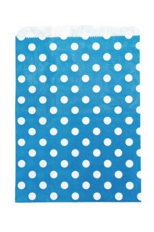 009. Papieren zakjes blauw