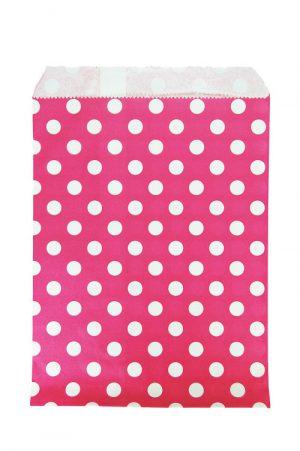 009. Papieren zakjes roze