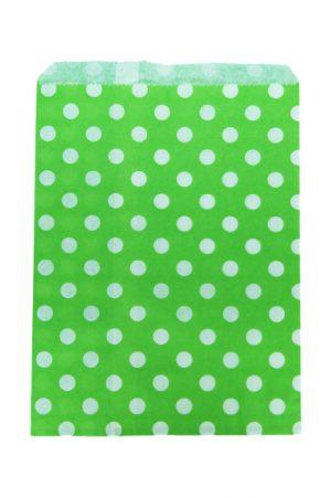 009. Papieren zakjes groen