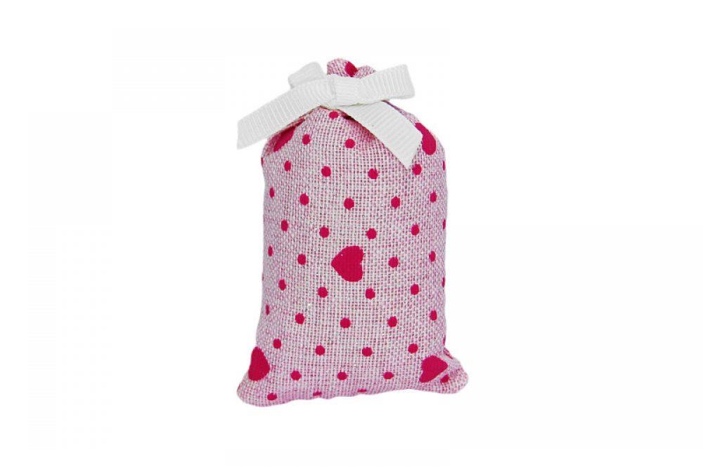 Geurbundeltje roze