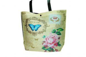 015. Non woven tas butterfly (10 st.)