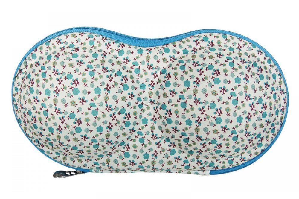 BH koffer blauw wit