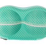 BH koffer groen stip