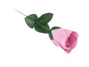 038. Zeeproosje op steel licht roze
