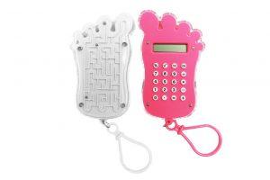 034. Calculator voet wit