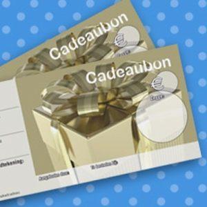 051. Kadobon print goud