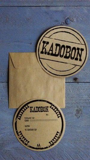 051. Kadobon kraft rond
