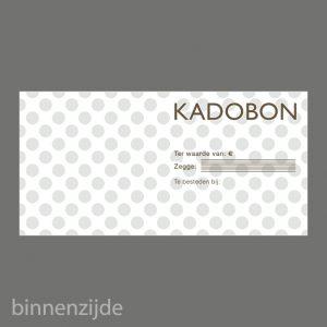 051. Kadobon stip taupe