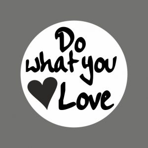 050. Stickers tekst 'Do What You Love'