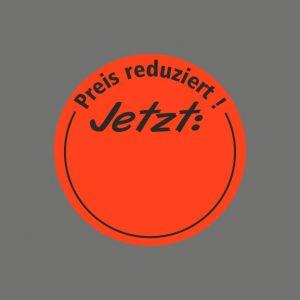 050. Stickers tekst 'Preis Reduziert'
