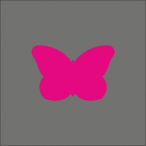 050. Stickers butterfly pink