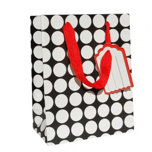 001. Packaging black / white circle (12 pcs.)