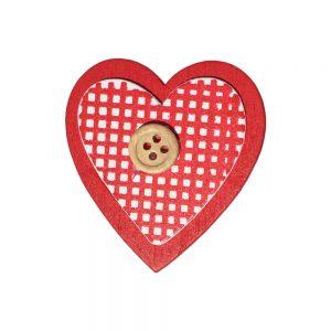 024. Geschenkplakker hart/knoop