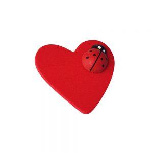 024. Geschenkplakker hart/lieveheersbeestje