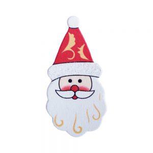 024. Geschenkplakker kerstman