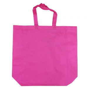 005. Non woven tas XXL roze (50 st.)