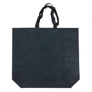 005. Non woven tas XXL zwart (50 st.)