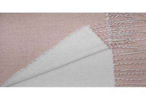 030. Sjaal gemêleerd roze